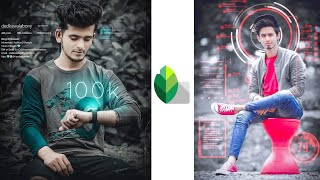 Futuristic Photo Editing Tricks In Snapssed 🔥 || Snapseed Photo Editing || SK EDITZ