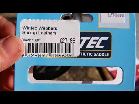 Wintec Webbers Stirrup Straps Review.