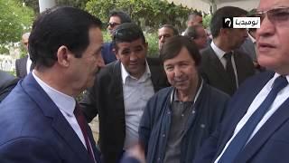 شاهد.. جنازة الفريق بوسطيلة بمقبرة بن عكنون وسط حضور مسؤولين سامين في دولة