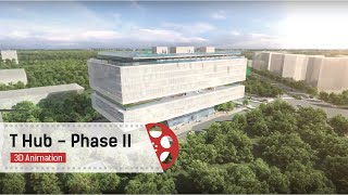 T Hub - Phase II | Reactor Building 3D Walk Through Video
