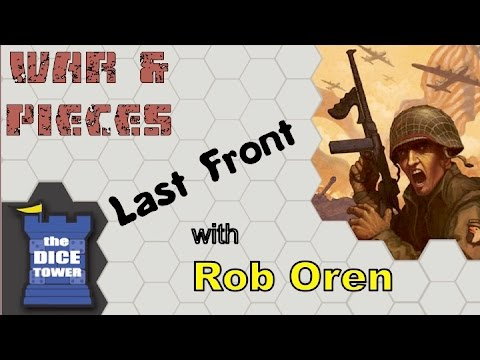 War and Pieces: Dice Tower Last Front Review