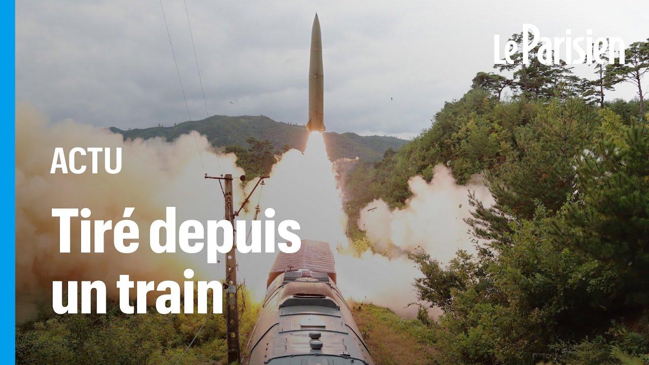La Corée du Nord tire un missile depuis un train, son voisin du Sud répond depuis un sous marin