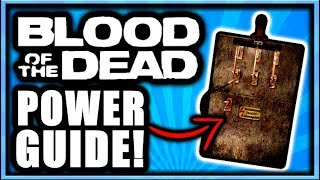 Blood of the Dead How to Turn on Power On Entire Map! Power Switch Location (Black Ops 4 Zombies)