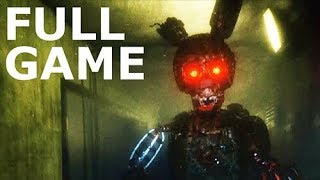 The Joy Of Creation: Halloween Edition - Full Game & Ending (No Commentary) (FNAF Horror Game)
