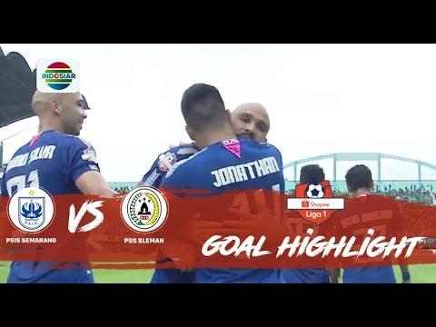 PSIS Semarang - PSS Sleman 3:0. Видеообзор матча 02.11.2019. Видео голов и опасных моментов игры
