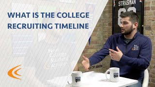 What is the College Recruiting Timeline?