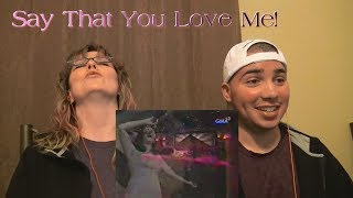 MOM & SON REACTION! Say That You Love Me (Highest Version)- Regine Velasquez