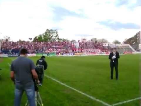 """Recibimiento De Douglas Haig Vs Gimnasia Esgrima La Plata"" Barra: Los Fogoneros • Club: Douglas Haig"