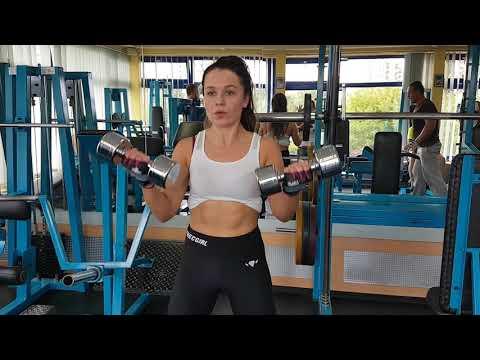 Ćwiczenia mięśni na odwrotnej stronie filmu