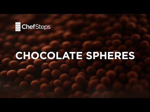 Molecular Gastronomy: Rich Chocolate Caviar