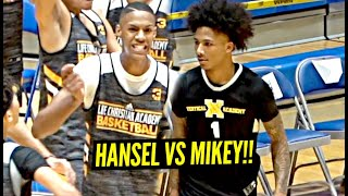 Mikey Williams vs Hansel Enmanuel Went CRAZY!!! Both Players WENT AT IT!!