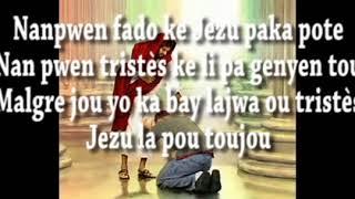 Nan pwen fado ke Jezu pa ka pate parol
