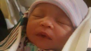 Birth vlog: Birth of my baby cousin! Happy birthday Kenedy! 😊 - Video Youtube