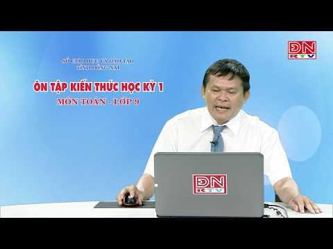 Ôn tập kiến thức HK1- Môn Toán - lớp 9 (03-03-2020)