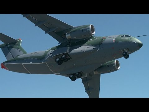 embraer kc 390 military transport first flight aintv