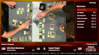 Pro Tour Dragons of Tarkir Round 5 (Standard): Seth Manfield vs. Jamie Parke