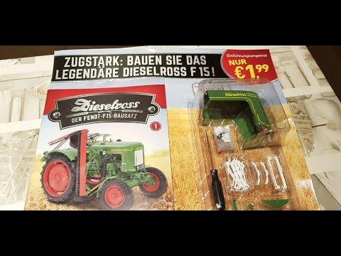 Traktor Bausatz Fendt Dieselbross Erstausgabe für 1,99 Euro von Hachette