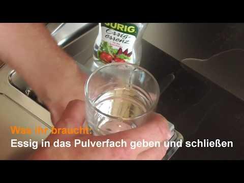 Spülmaschine reinigen: Geschirrspüler mit Essig, Backpulver oder Natron sauber machen