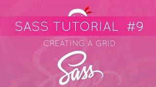 SASS Tutorial #9 - Creating a Grid with SASS Math