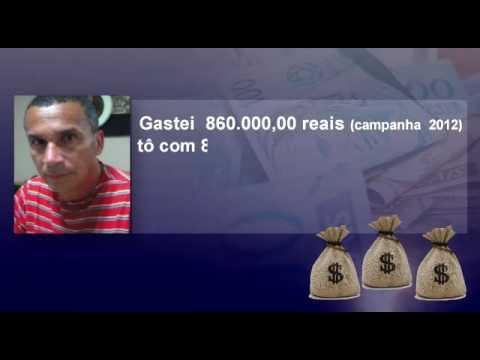 Em Una-BA, Ex vice prefeito, investe 1milhao de reais, em candidato a prefeito. Crime do caixa 2!