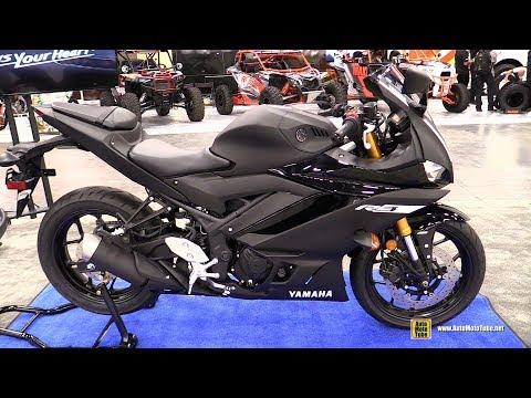 2019 Yamaha R3 -  Walkaround - Debut at 2018 AIMExpo Las Vegas