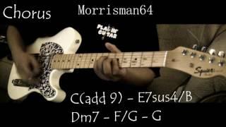 KOOL & THE GANG   Jones Vs. Jones   Guitar Lesson With Chords