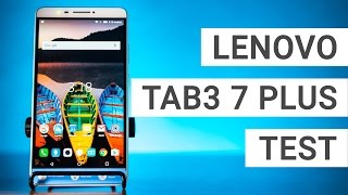 Lenovo Tab3 7 Plus Test: Tablet mit LTE & Telefon-Funktion   Deutsch