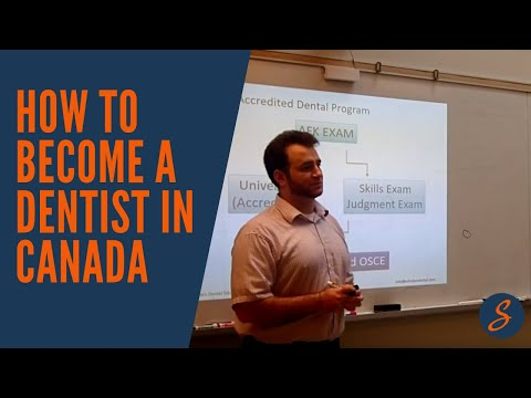 How to become a dentist in Canada (NDEB) - YouTube