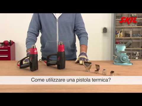 Come utilizzare una pistola termica?