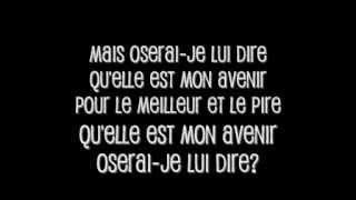 Christophe Maé - La rumeur (avec paroles)