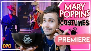 Mary Poppins Returns Emily Blunt Costumes and Props on Display Up Close!