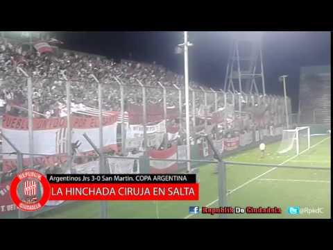 """""""RpkdC - LA HINCHADA DE SAN MARTIN DE TUCUMAN EN SALTA (SAN MARTIN 0-3 ARGENTINOS)"""" Barra: La Banda del Camion • Club: San Martín de Tucumán"""
