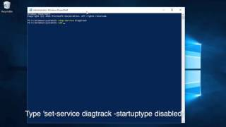 Disable WIndows Telemetry - Tracking Diagnostic Service