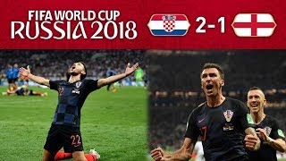 CROATIA 2-1 ENGLAND - IT