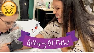 GETTING MY 1ST TATTOO | Matching Tattoos With My Best Friend