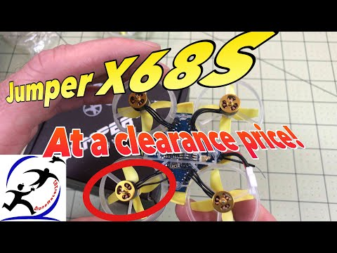 Jumper X68S Brushless Tiny Whoop It flies GREAT and these tiny motors are SO CUTE
