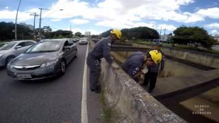 Salvamento - Cidadão no Rio Arrudas - DIÁRIO DE PATRULHA