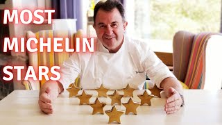 Top 10 Chefs Who Have The Most Michelin Stars