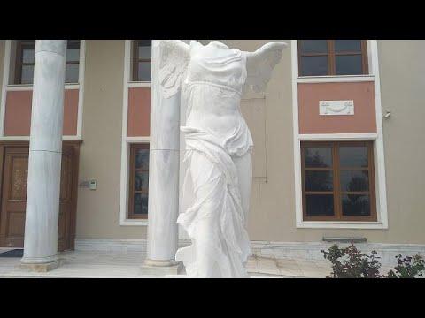 Στην Αλεξανδρούπολη η επιβλητική «Νίκη της Σαμοθράκης»…