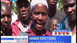 NANDI EVICTIONS: More than 2000 people from Chepturo village in Nandi County have been evicted