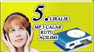 5 Liralık Mp 3 Çalar Kutu Açılımı (Mp3 Çalara Nasıl Şarkı Yüklenir?)