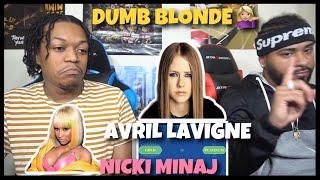 NICKI HOPS ON ANYTHING & KILLS 🔥Avril Lavigne feat. Nicki Minaj - Dumb Blonde | Reaction