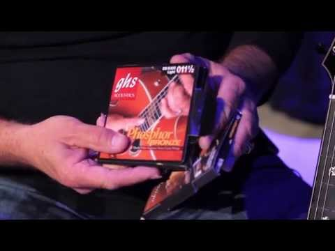 Doyle Dykes - Changing Guitar Strings