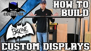 How To Build Custom Displays! Man Cave | High End Collectibles Room!