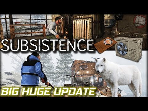 Huge Amazing Update | Subsistence Gameplay | Alpha 50 First Look