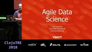 Build your own tools for agile data science – Toni Vanhala