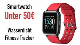 BESTE SMARTWATCH UNTER 50€ (WASSERDICHT!!)