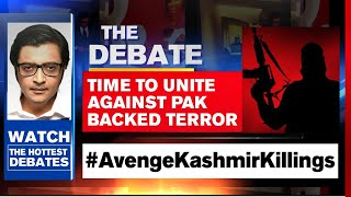 Pak Backed Terrorists Kill Kashmiri Nationalists | The Debate With Arnab Goswami