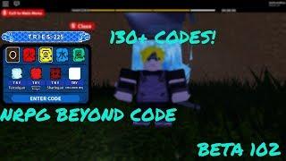 ROBLOX NRPG Beyond Code 130+ Tries