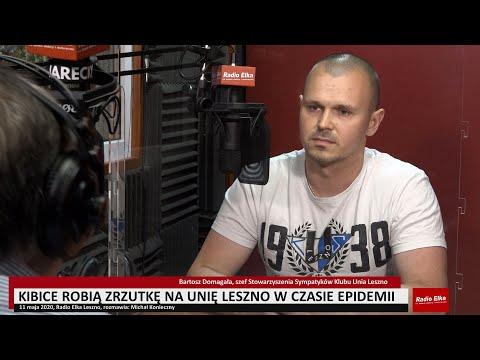 Wideo1: Bartosz Domagała o zrzutce kibiców na Unię Leszno w czasie epidemii
